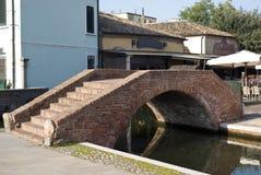 Canal bridge Royalty Free Stock Photos