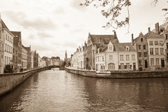Canal, Bruges Royalty Free Stock Image