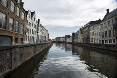 Canal of Bruges Stock Photo
