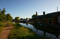Canal buildings Norbury Junction Royalty Free Stock Photos