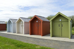 Canal Cabins Stock Photo