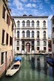 Canal in Cannaregio Stock Photo