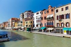 Canal Cannaregio in Venice, Italy Royalty Free Stock Photo