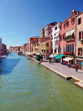 Canal Cannaregio in Venice, Italy Royalty Free Stock Photography