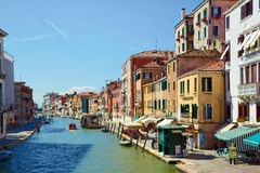 Canal Cannaregio in Venice, Italy Stock Image