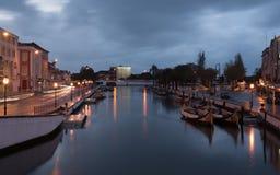 Canal central d'Aveiro - Portugal Photos libres de droits