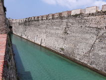 Canal ceuti. Old canal in ceuta city Stock Photography