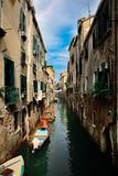 Canal cityscape in Venice, Italy.  Stock Image