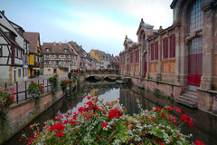 Canal in Colmar Stock Image