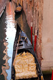 Canal com gôndola, Veneza Foto de Stock Royalty Free