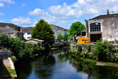 Canal in Cork Royalty Free Stock Photography