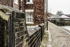 Canal Cottages Royalty Free Stock Images
