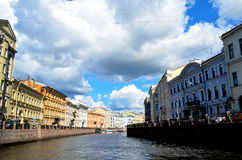 Canal cruise in Saint Petersburg - Russia Stock Photo