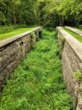 Abandoned Canal royalty free stock photo