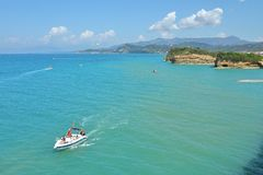 Canal d`Amour Beach near Sidari Village, Corfu Island, Greece, Europe royalty free stock image