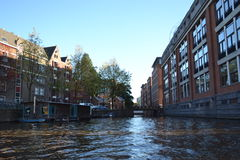 Canal d'Amsterdam Photos stock