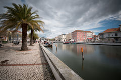Canal d'Aveiro - Portugal Photographie stock