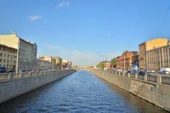 Canal d'Obvodny dans StPetersburg photographie stock libre de droits