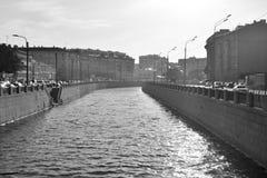 Canal d'Obvodny dans StPetersburg photo libre de droits