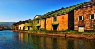 Canal d'Otaru photos stock