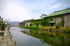 Canal d'Otaru Photographie stock