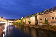 Canal d'Otaru Images stock