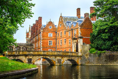 Canal da came na Universidade de Cambridge imagem de stock royalty free