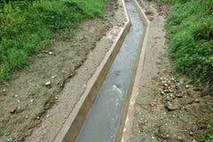 Canal de água imagem de stock royalty free