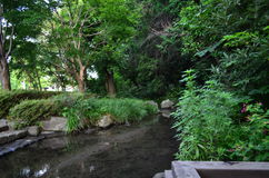Canal de água Fotografia de Stock Royalty Free