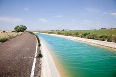 Canal de agua Imágenes de archivo libres de regalías