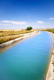 Canal de agua fotos de archivo