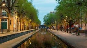 Canal de Albion, Londres Fotografia de Stock Royalty Free