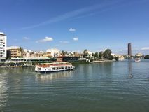 Canal de Alfonso XIII royalty free stock photography