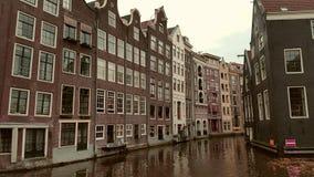 Canal de Amaterdam Fotografía de archivo