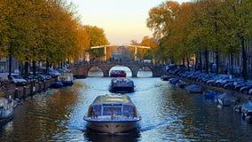 Canal de Amaterdam Imagen de archivo