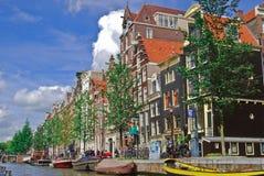 Canal de Amsterdão Fotografia de Stock Royalty Free