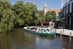 Canal de Amsterdam Foto de archivo libre de regalías