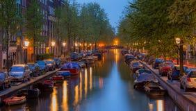 Canal de Amsterdam Fotografía de archivo libre de regalías