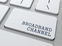 Canal de banda ancha - concepto de Internet. libre illustration