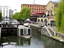 Canal de Bautiful Photographie stock libre de droits