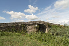 Canal de Bereguardo (IMilan) Fotos de archivo