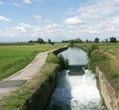 Canal de Bereguardo (IMilan) Fotos de archivo libres de regalías
