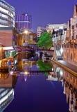 Canal de Birmingham, lugar de Brindley Fotografía de archivo libre de regalías