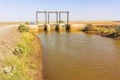 Canal de Ble el río Nilo Imagenes de archivo