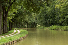 Canal de Bourgogne, France Royalty Free Stock Images