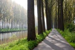 Canal de Bruges Photographie stock libre de droits