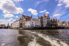 Canal de Bruges Images libres de droits