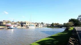 Canal de Bude Pensionnaire de Devon et des Cornouailles LE R-U photos stock