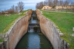 Canal de Castile fotos de stock royalty free