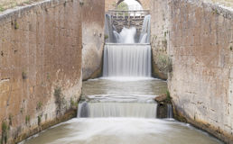 Canal de Castile, España Fotografía de archivo